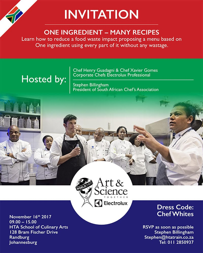 Art & Science One Ingredient–many-recipes 16th November 2017