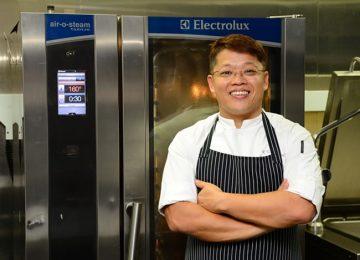 chef  Kong Kok Kiang