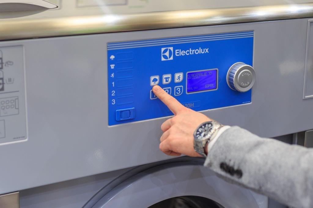 electrolux wyposazenie pralni