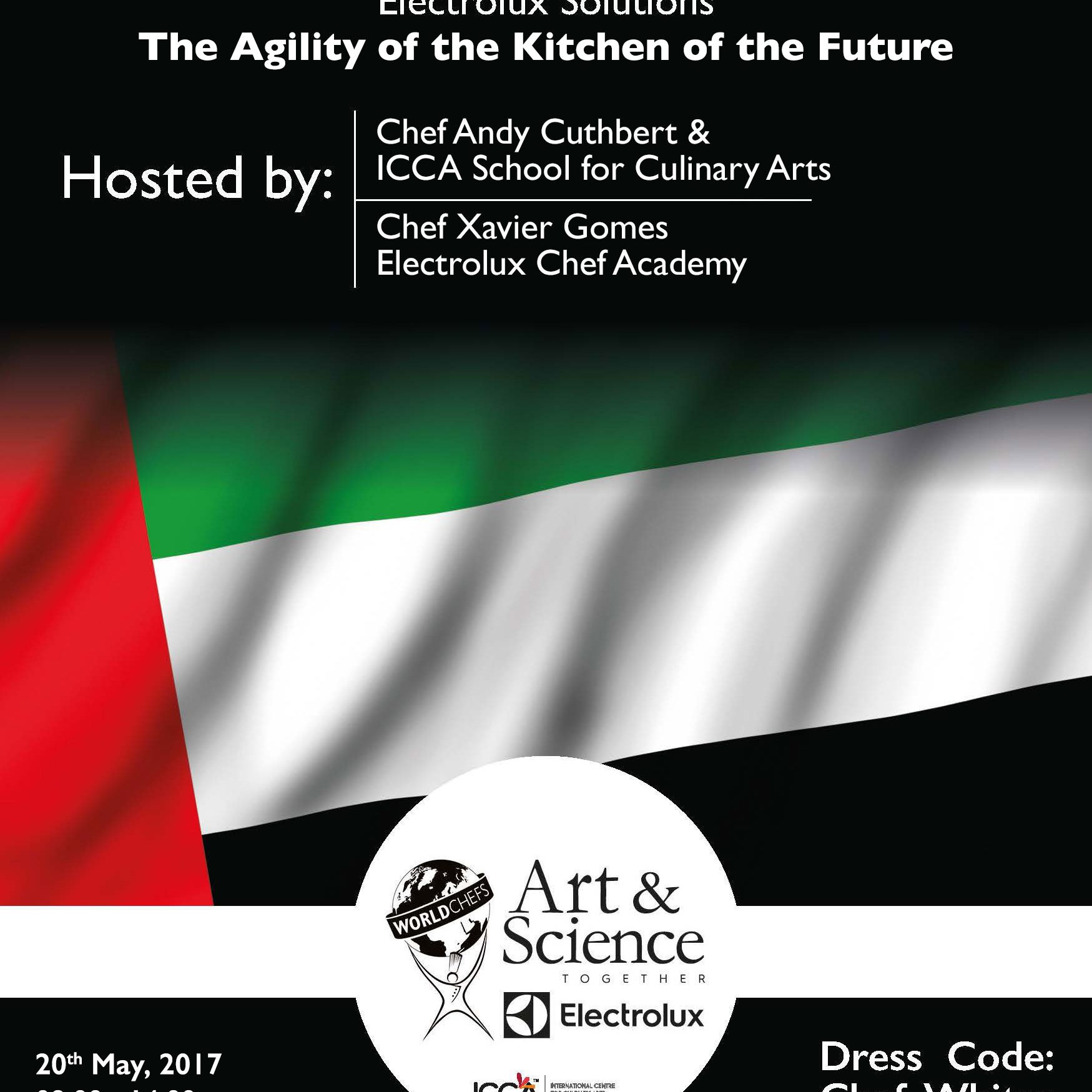 Art&Science the Agility of the Kitchen of the Future 20th May 2017
