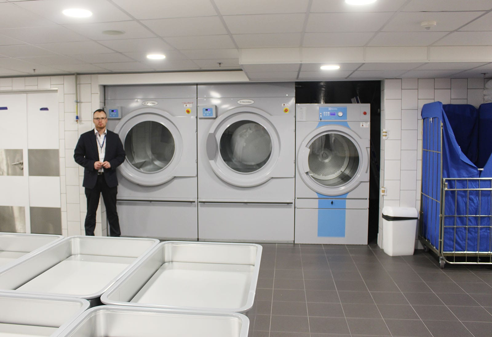 pralnia hotelowa