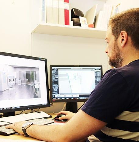 3D-layouter för tvättstugor