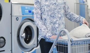 Tvättstuga - stor vinst för miljön