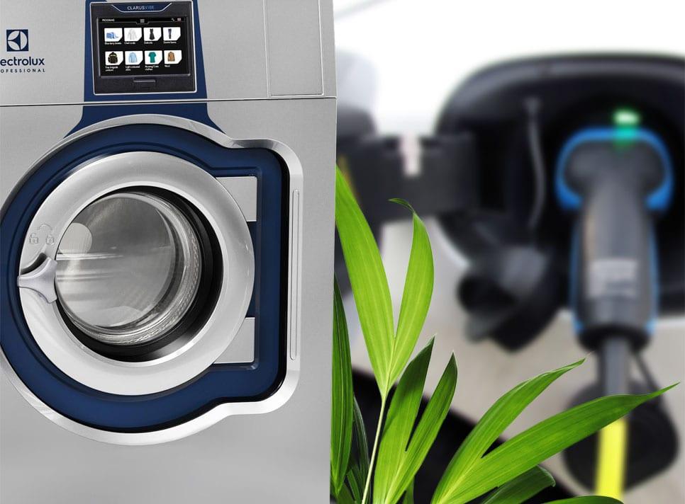 Gemensam tvätt laddar fler bilar