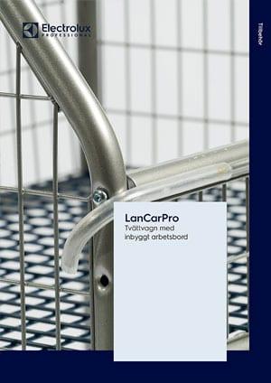 LanCarPro tvättvagn broschyr
