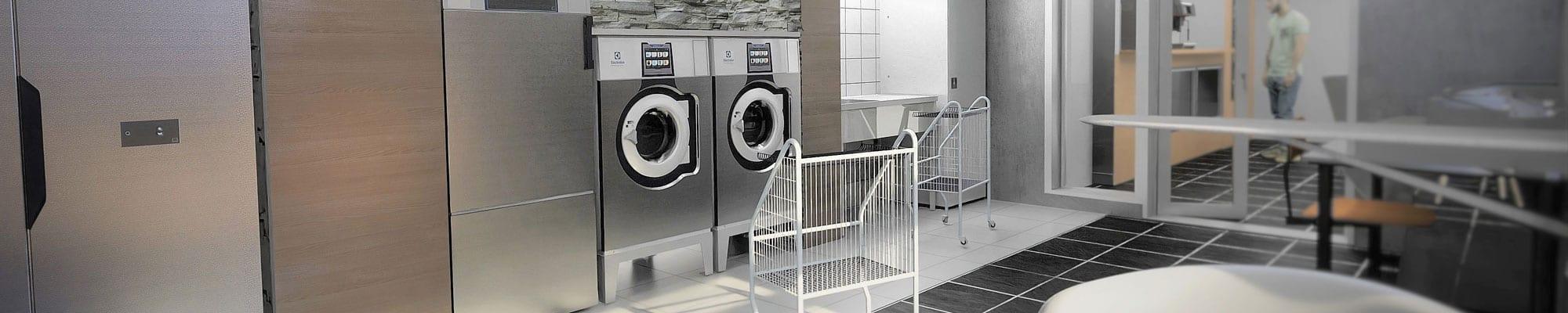 3D-projektering för arkitekter Tvättstuga