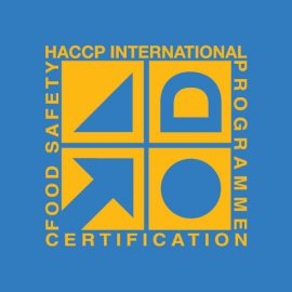 haccp international programm certification food safety