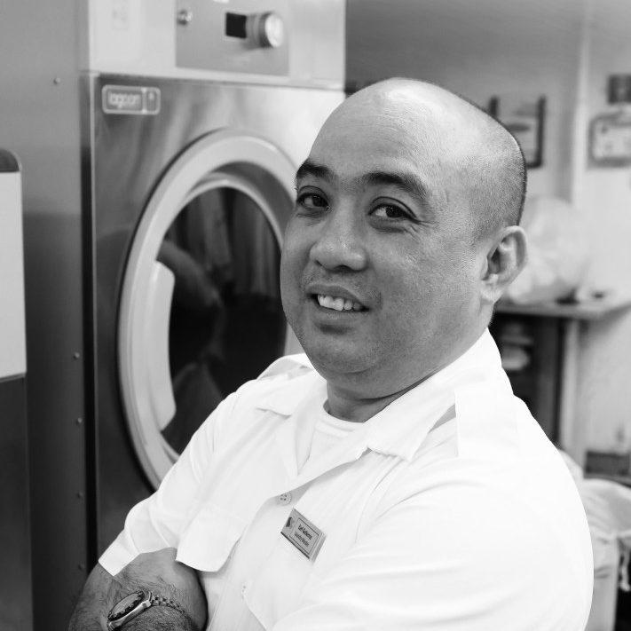 Earl Gutierrez, Laundry Master, Saga Sapphire passenger ship