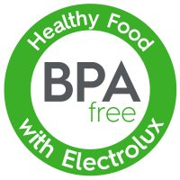 BPA Free with Electrolux