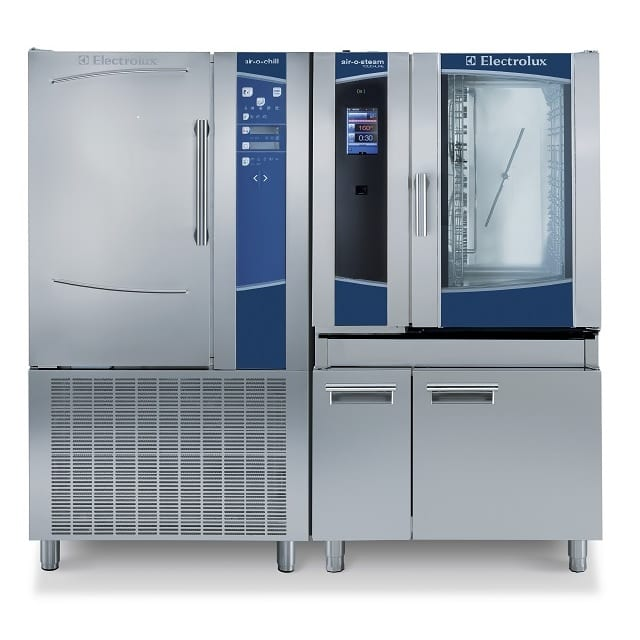 Combi Oven with Blast Chiller for Electrolux Professional's Cook&Chill process