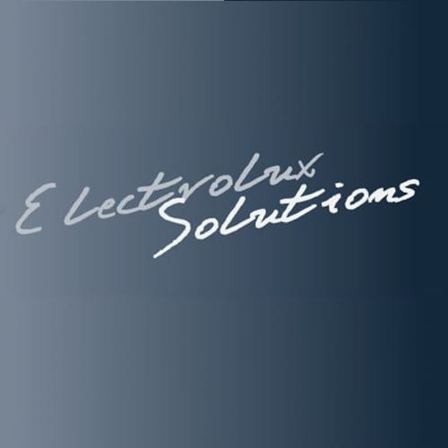 electrolux logo electrolux solutions for north america logo
