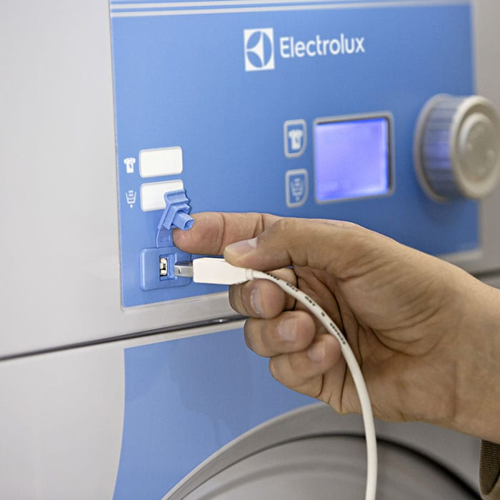 Management Systems and Software for Laundry | Electrolux Professional