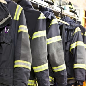Firefighters Uniforms - OPL | Electrolux Professional USA Laundry Systems