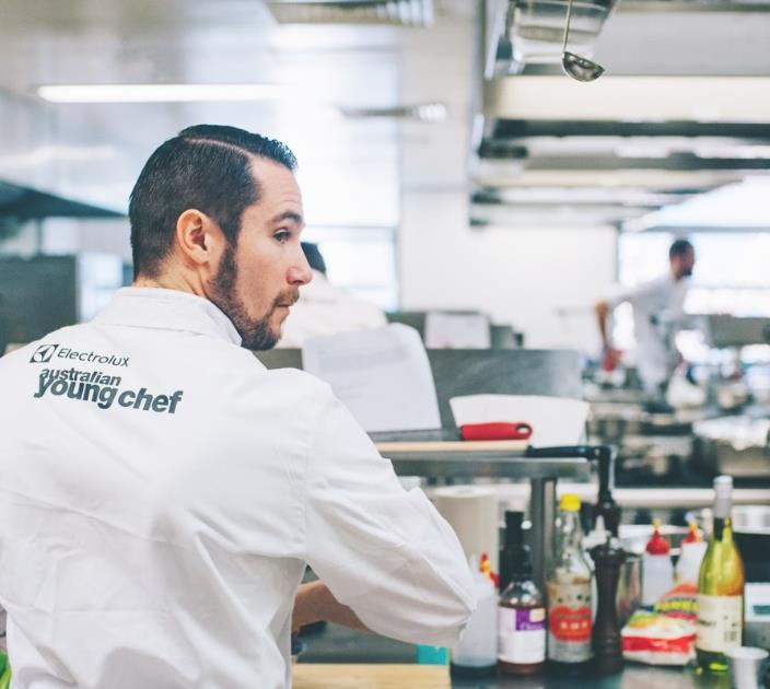 Australian Young Chef - Electrolux Professional