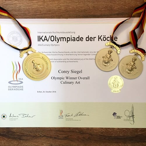 Gold medals for ACF Culinary Team USA