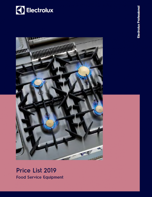 July 2019 Price List
