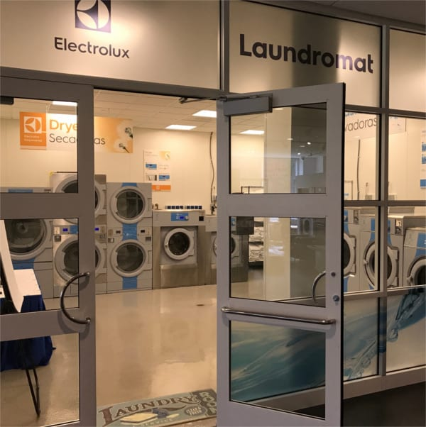 Center of Excellence Laundromat