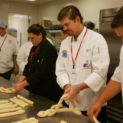 Chef baking during WACS Seminar in Charlotte