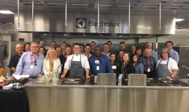 CIA Fellows visit Electrolux for private tasting, tour