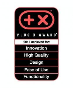 Plus X Award logo