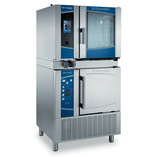 Electrolux Professional Tower of Power - Blast Chiller + Combi Oven