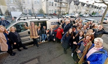 Electrolux donates equipment to homeless charity during season of goodwill