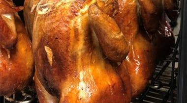 Smoked Rotisserie-Style Chicken