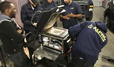 Service team provides extensive SpeeDelight field training tour