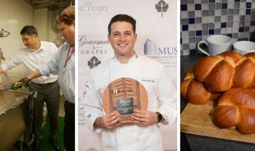 Febraury 2018 - Food Service Equipment, Corey Siegel Golden Fork Award, Honey Challah Bread