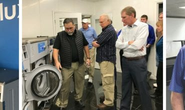 Laundrylux Appoints Teeters Products as Electrolux Professional Laundry Distributor
