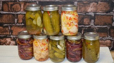 Pickled Vegetables by Chef Corey Siegel