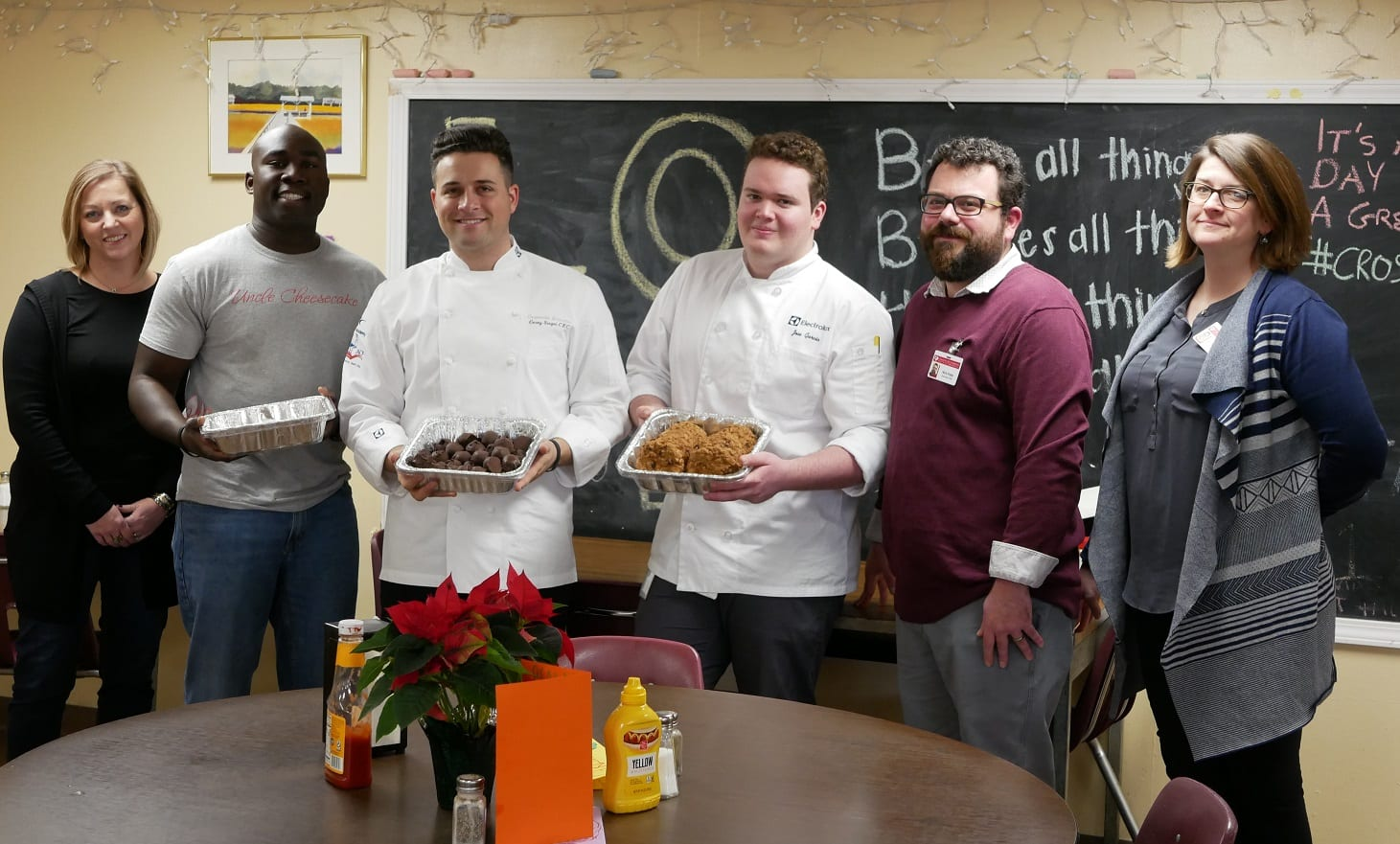 'Uncle Cheesecake' bakes with Electrolux, delivers holiday favorites to area non-profits