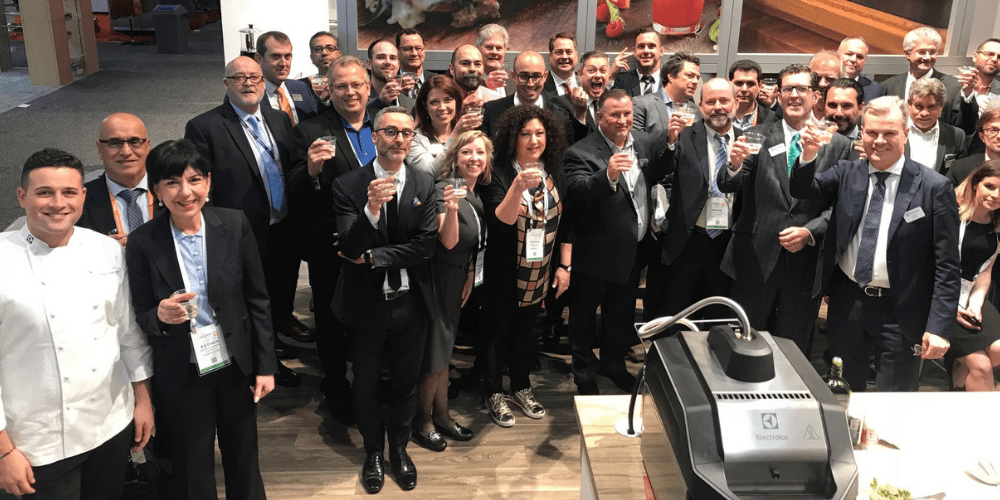 Successful NAFEM Show 2019 for Electrolux Professional