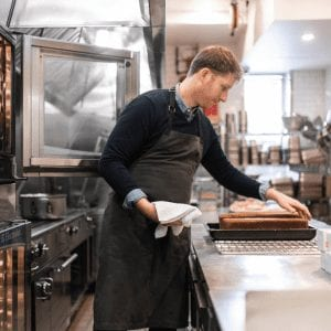 Greg Baxtrom, chef at Olmsted Restaurant in New York