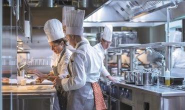 Commercial kitchen workflow design