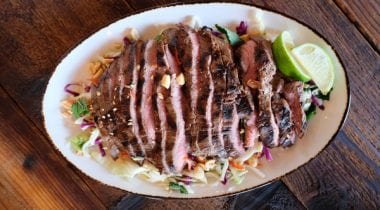 Thai Cabbage and Grilled Beef Salad