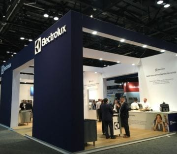 Electrolux Professional booth NAFEMShow2019