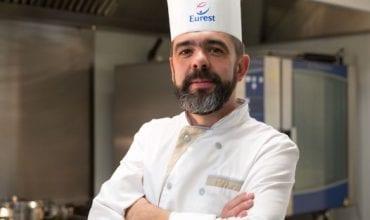 Thomas Miersman, Executive Chef Eurest for Le Cercle Restaurant