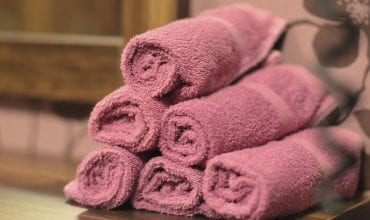 clean bedlinens and towels