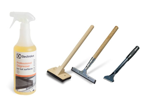professional degreaser hot surfaces - Accessories and consumables