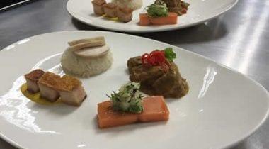 Asian platter