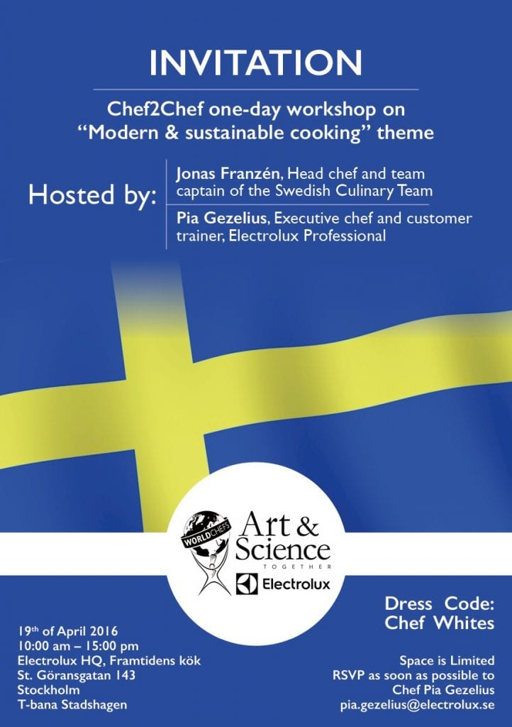 Workshop in Modern and Sustainable Cooking art and science