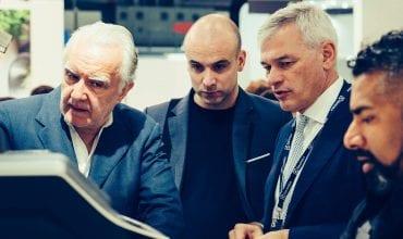 Alain Ducasse visits Electrolux Professional at Host 2017