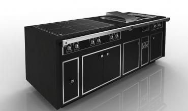 The Molteni Caractère stove