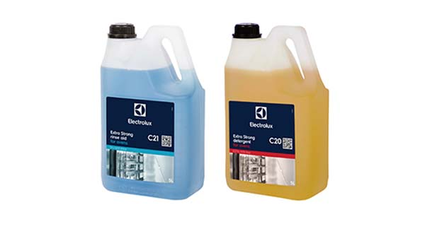 detergents efficient cleaning electrolux professional accessories and consumables