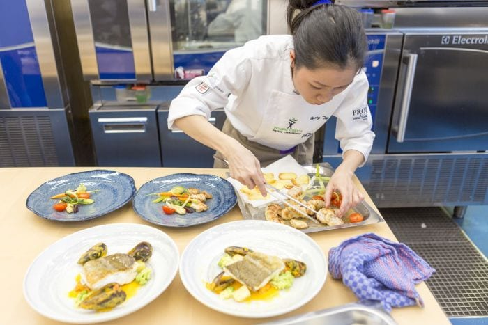 young chef hotel challenge dishes