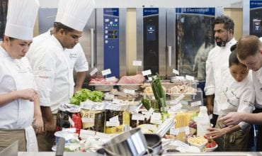 young chef hotel challenge electrolux professional irc