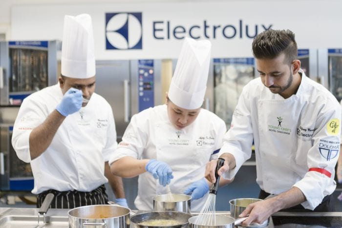 young chefs hotel challenge