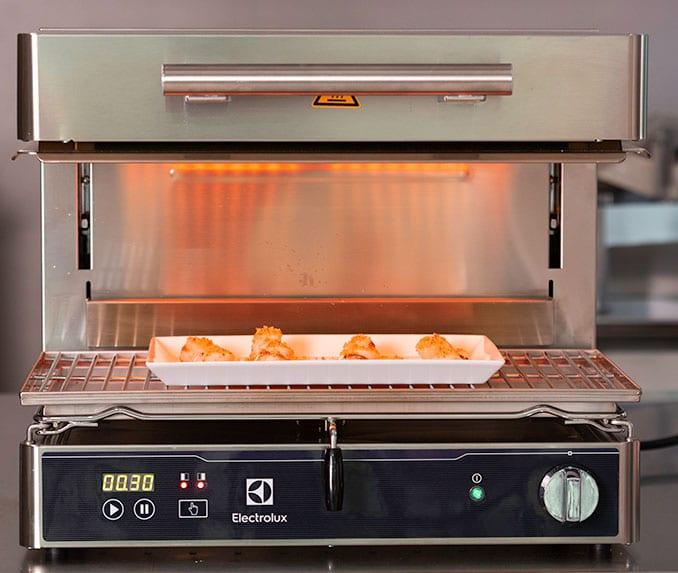 heat reduction in kitchen salamander