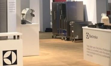 Electrolux Professional booth Nafem 2019